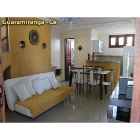 Aluguel temporada Guaramiranga Apartamento em condomínio centro
